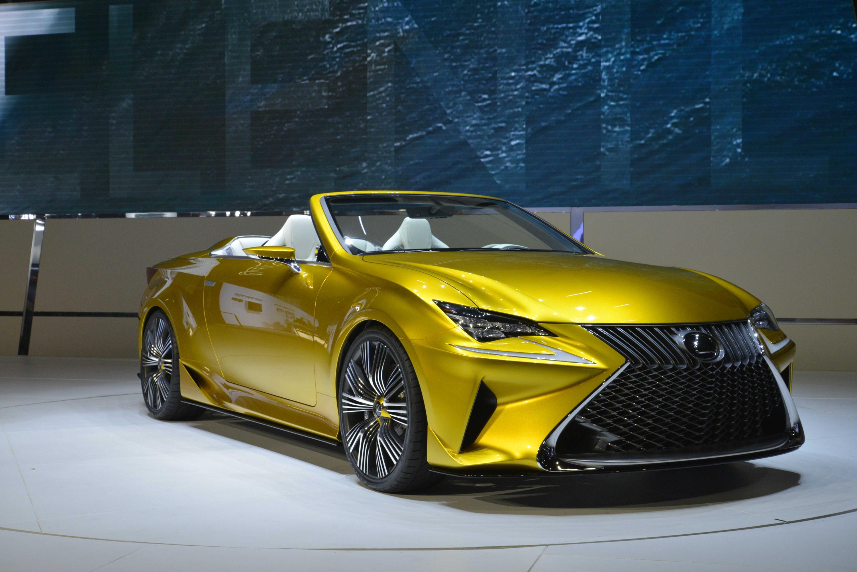 Lexus RC Convertible Still Under Consideration - autoevolution