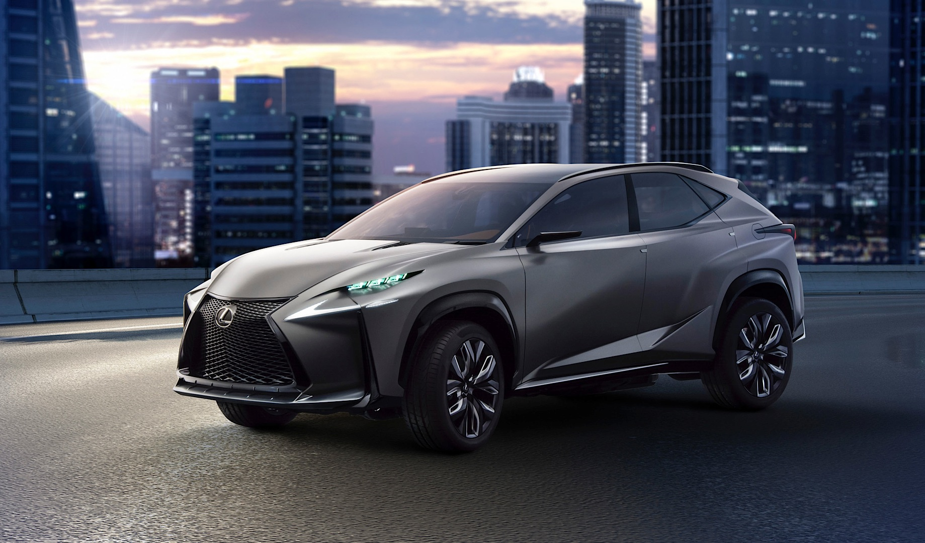 Lexus to unveil lf nx with 2 liter turbo at tokyo motor for Tokyo motor show lexus