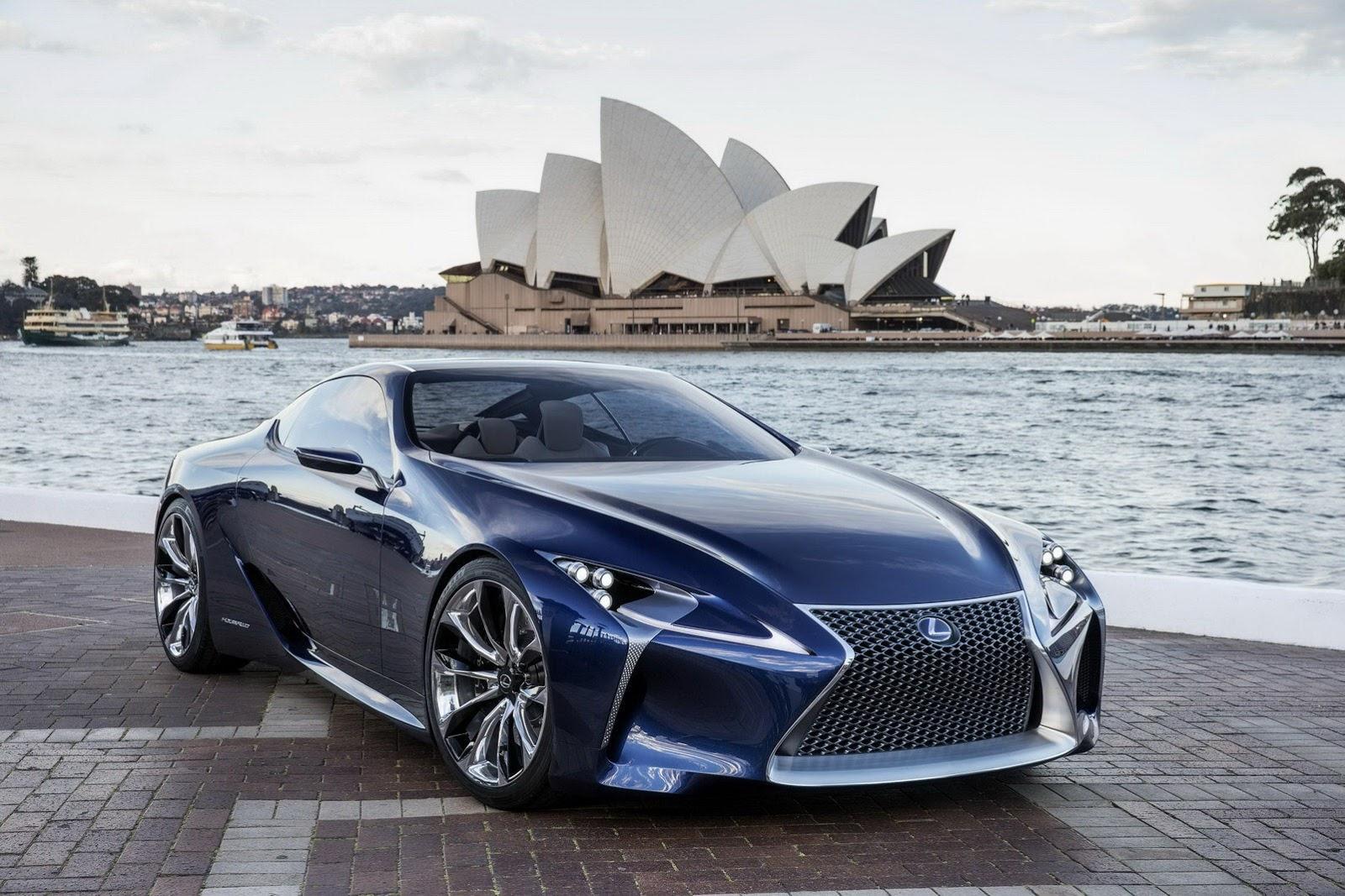 Images Of Lexus Cars Lexus LS LC Concept