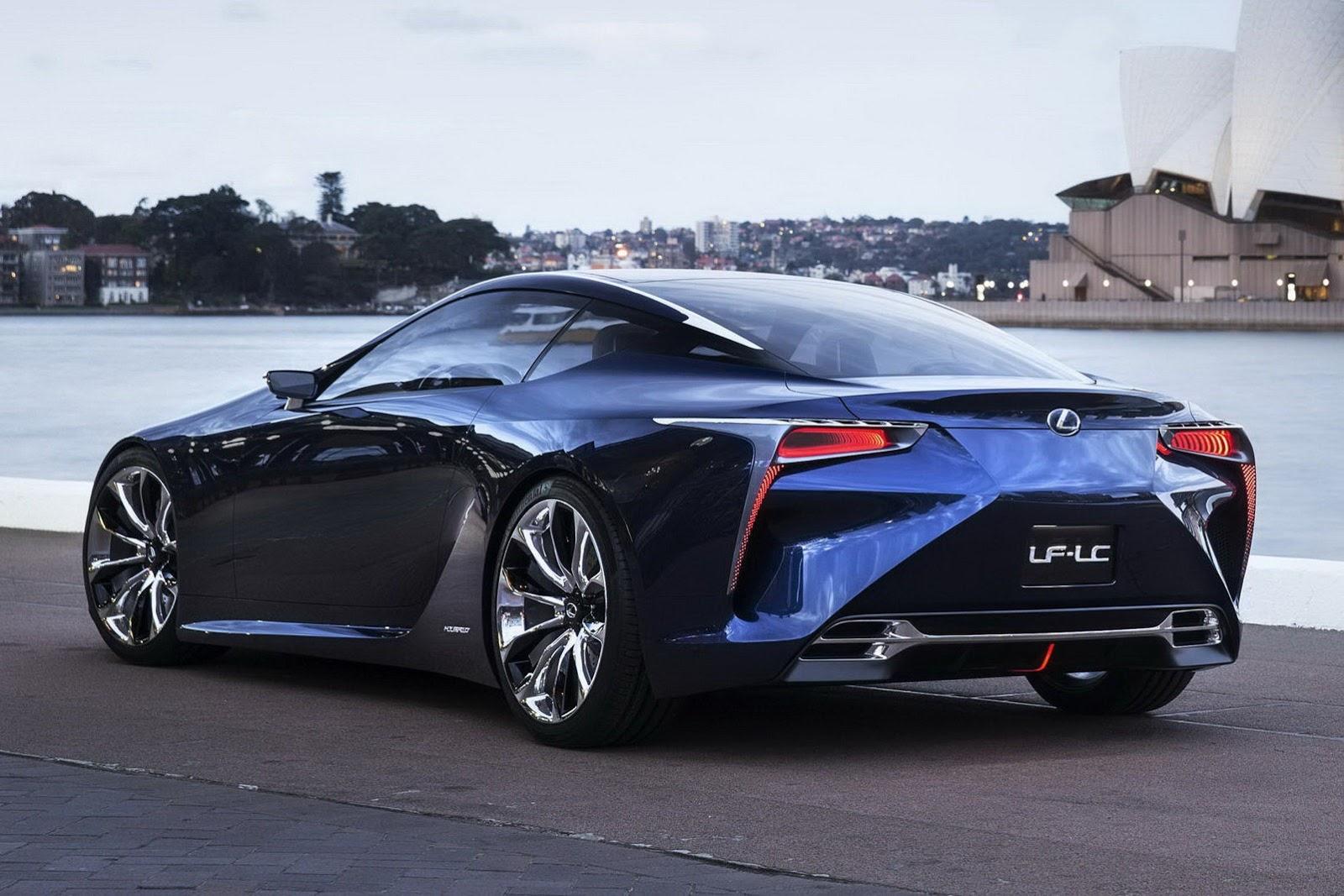 Lexus Lfa Meets Lf Lc Concept Autoevolution