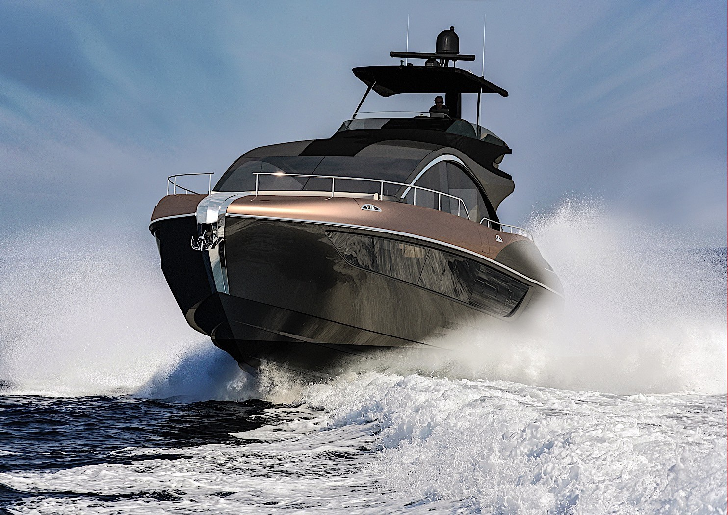 Lexus Unveils LY 650 Luxury Yacht as New Flagship Machine - autoevolution