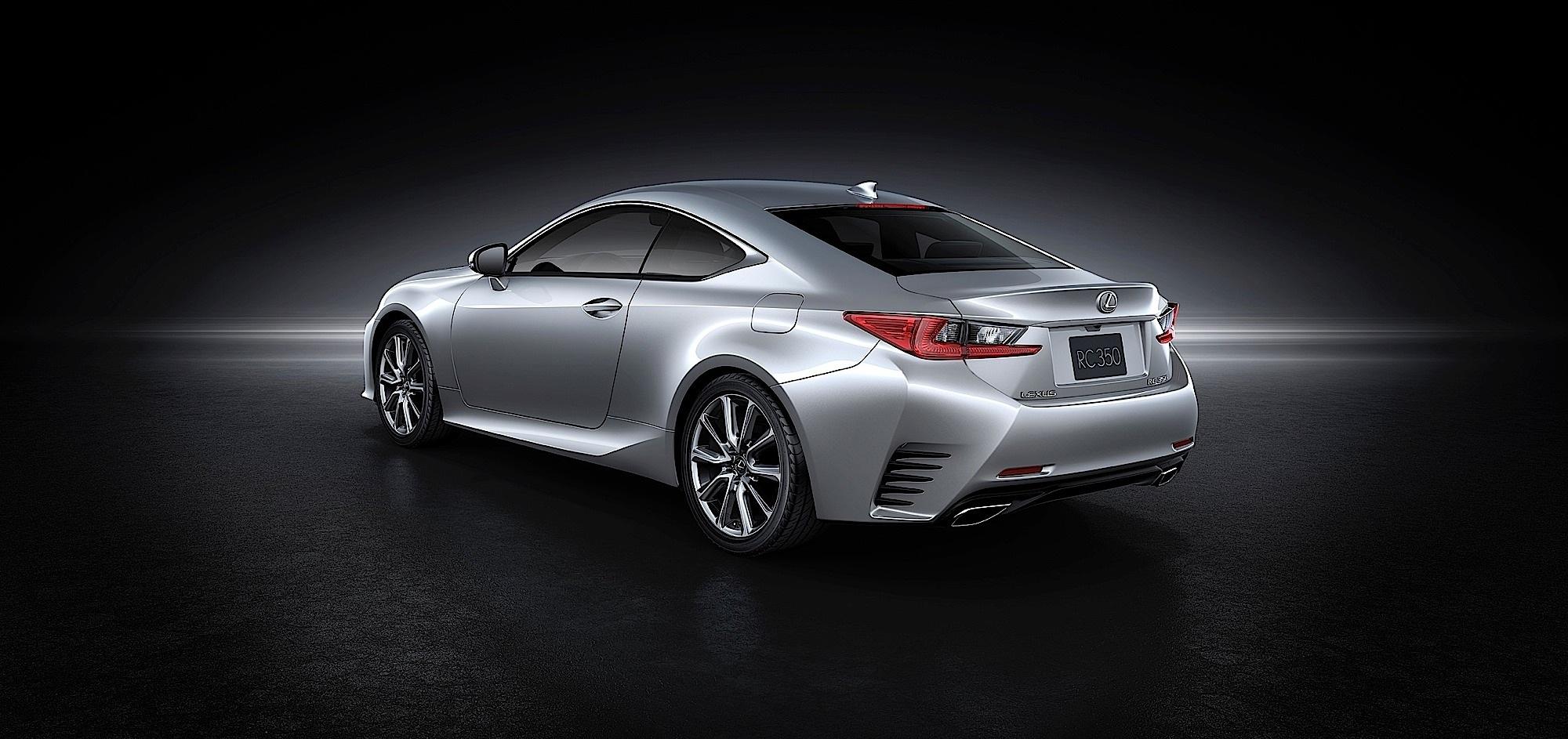 Lexus Unveils RC Sports Coupe At 2013 Tokyo Show