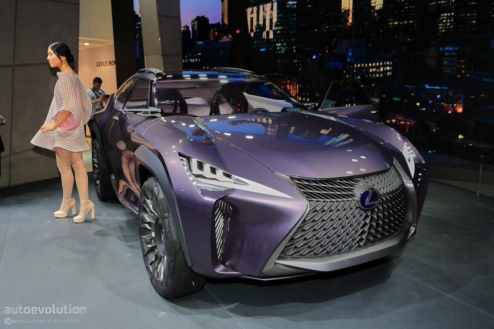 Lexus ux concept looks out of place at 2016 paris motor show autoevolution - Paris motor show ...