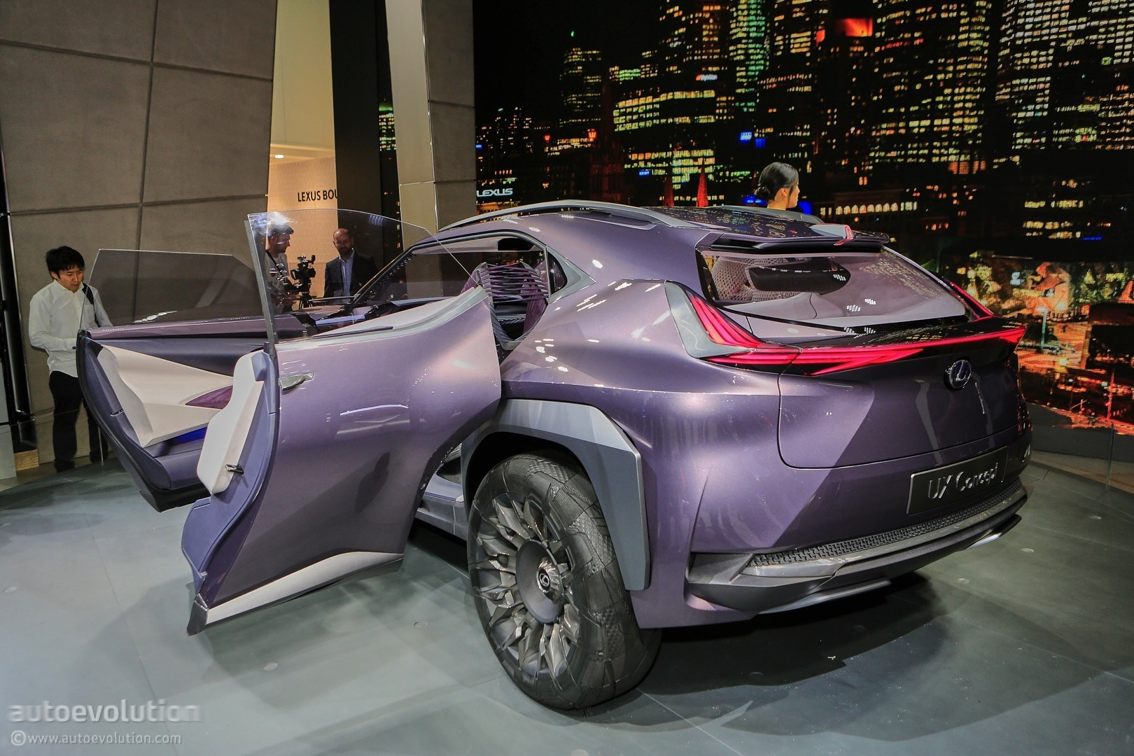Lexus UX Concept Looks Out of Place at 2016 Paris Motor ...