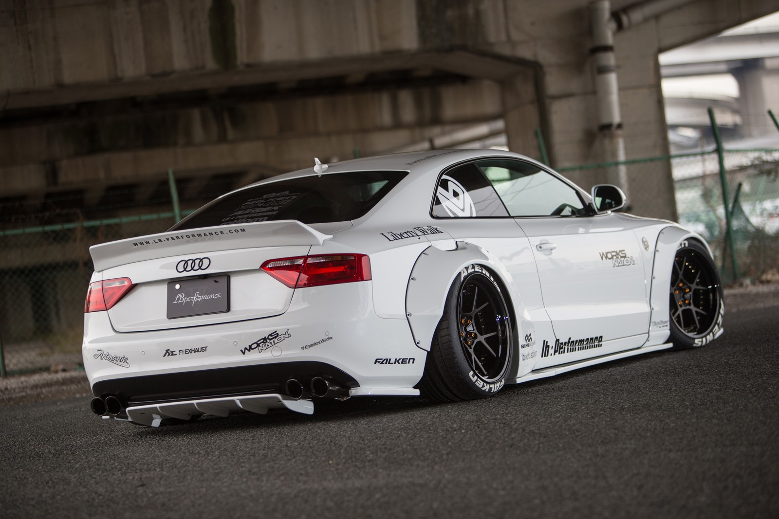 liberty walk audi a5 project is blessed by the widebody. Black Bedroom Furniture Sets. Home Design Ideas