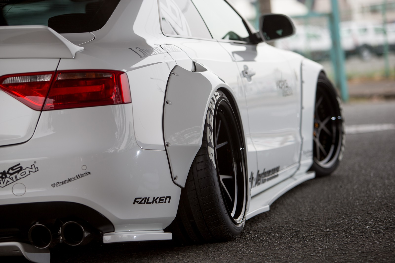 Liberty Walk Audi A5 Project Is Blessed By The Widebody