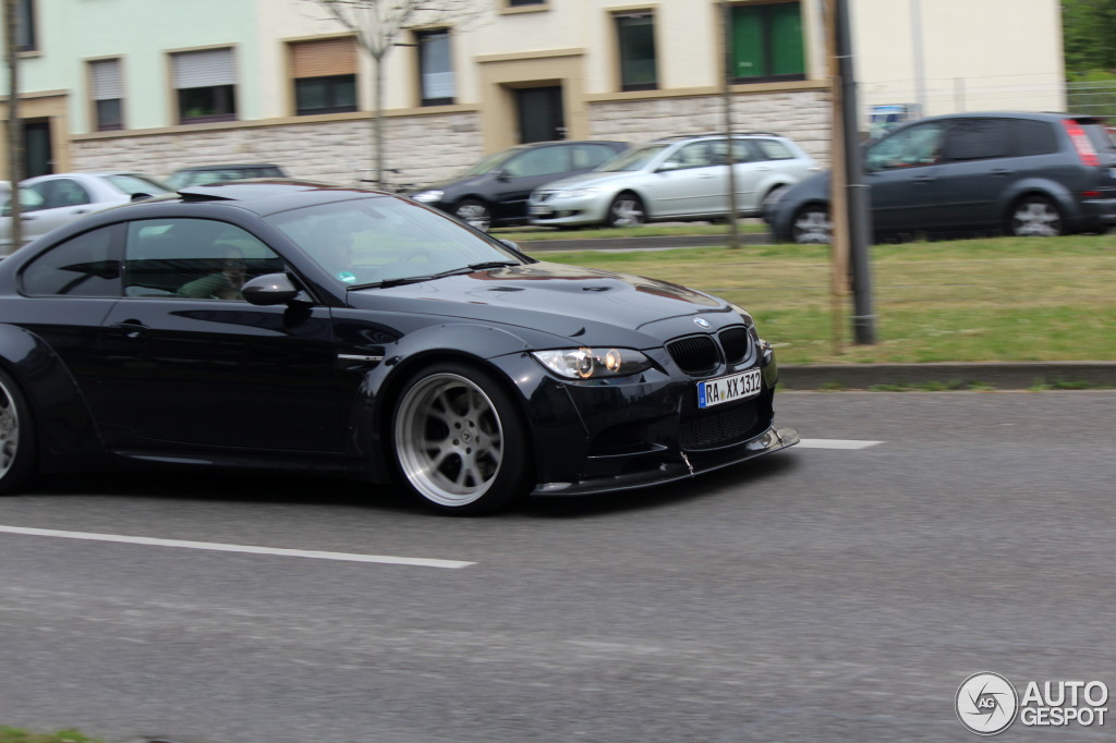 Liberty Walk BMW E92 M3 Spotted in Germany - autoevolution