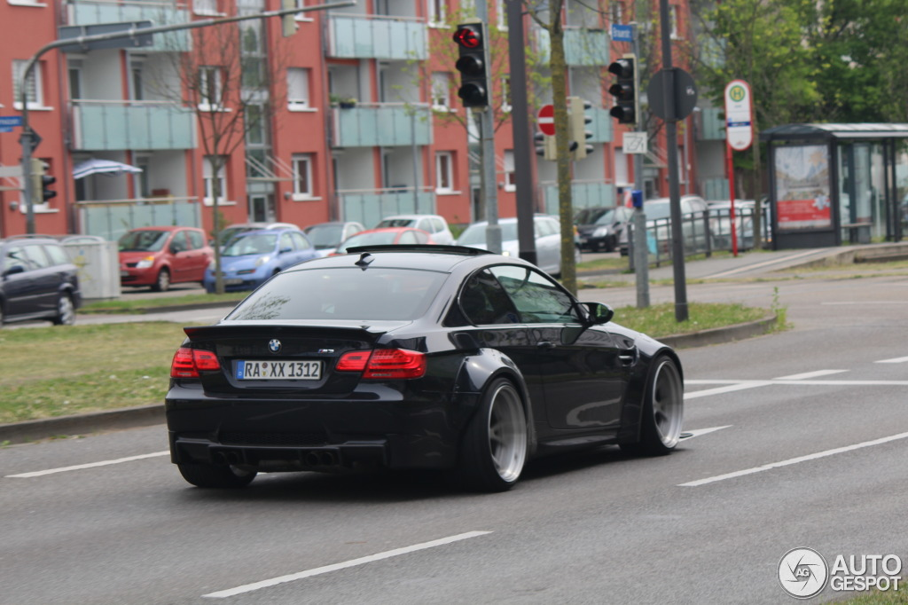 Liberty Walk Bmw E92 M3 Spotted In Germany Autoevolution
