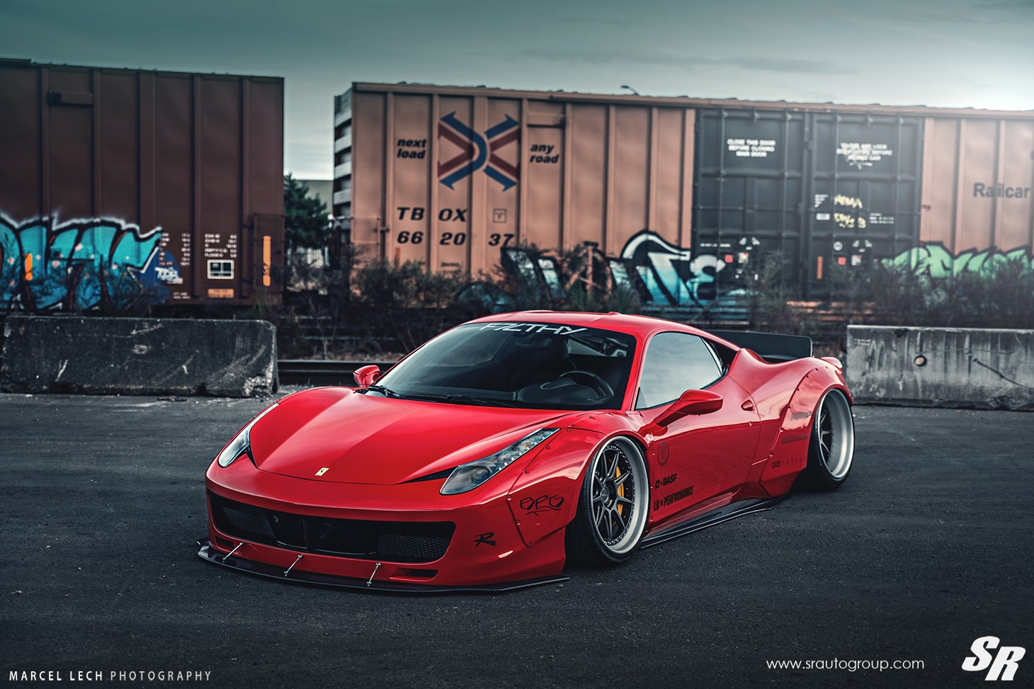 Liberty Walk Ferrari 458 Italia On Pur Wheels Italian Cuisine