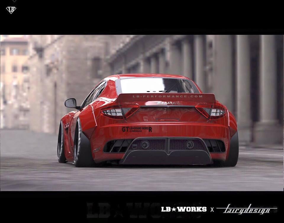 Liberty Walk Is Readying A Maserati Granturismo Wide Bodykit That Looks Insane Autoevolution