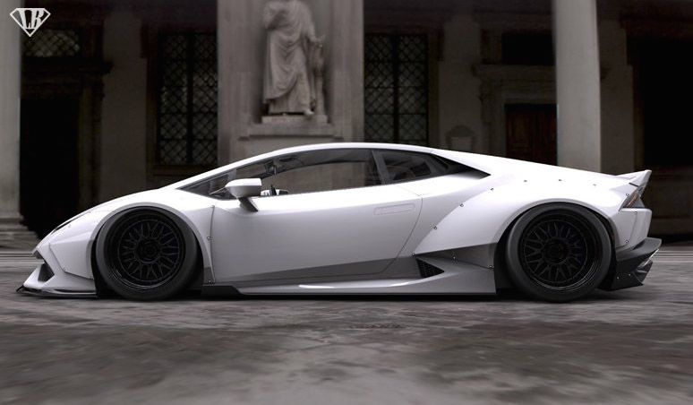 Liberty Walk Lamborghini Huracan Gets Rendered Autoevolution
