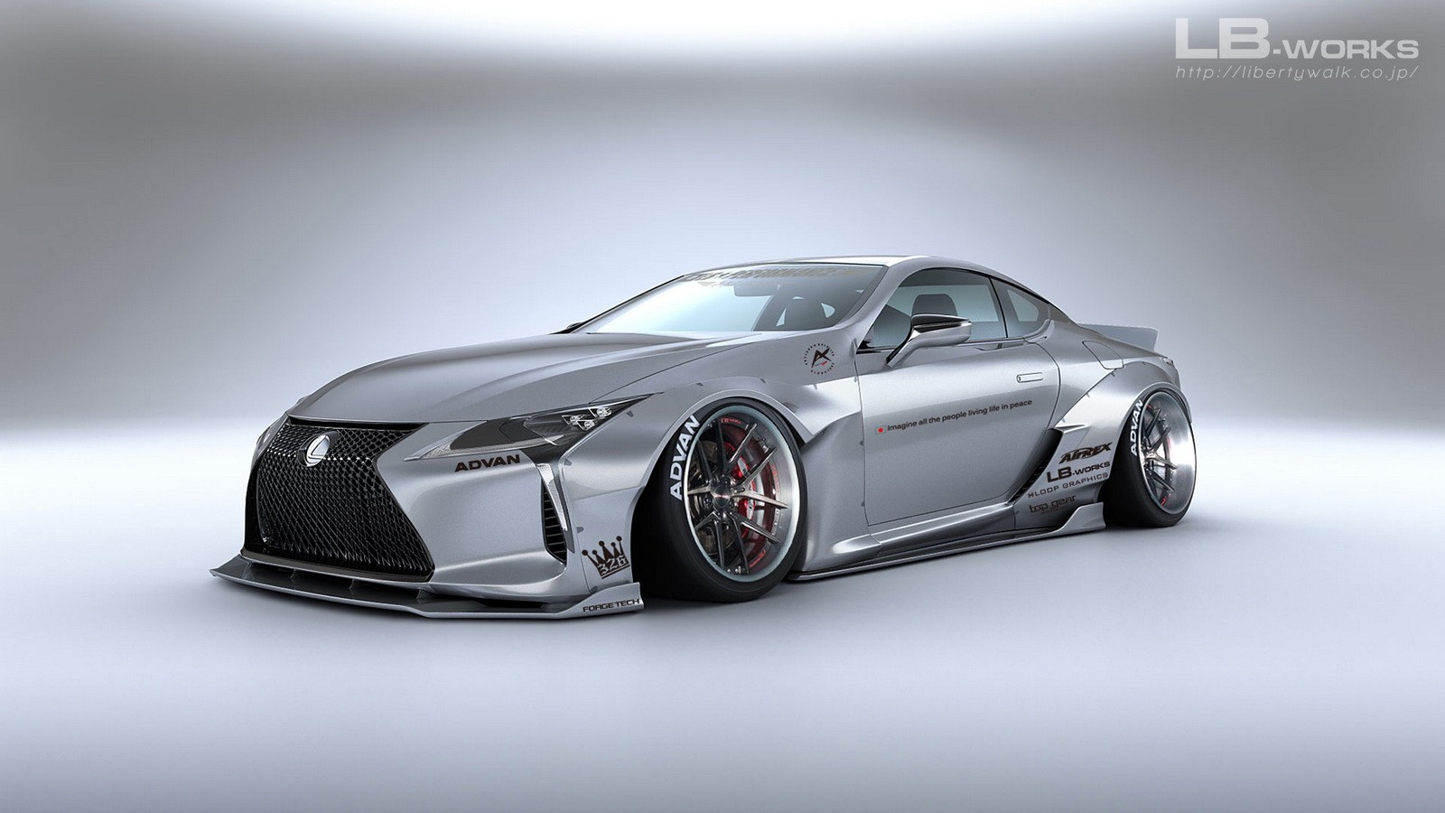 Liberty Walk Lexus Lc 500 Looks Like A Drifting Supercar