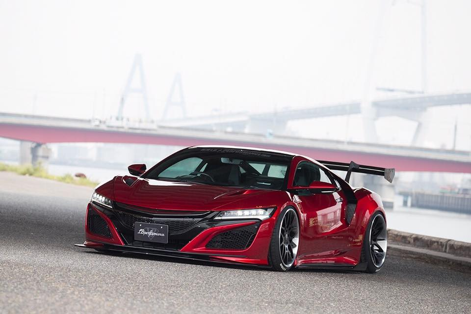 Liberty Walk Shows New Acura NSX Body Kit, and It Has no ...
