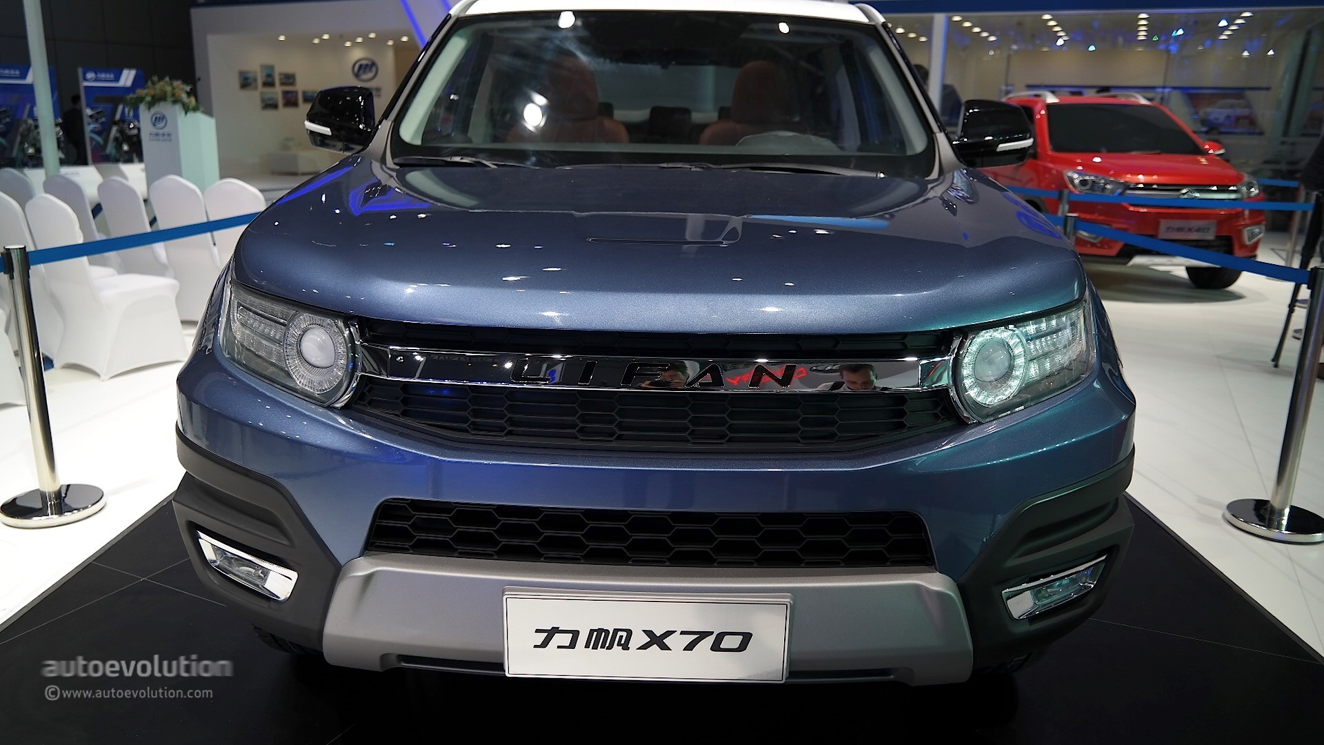 Lifan X70 Suv Concept Takes A Bow At Auto Shanghai 2015 Autoevolution