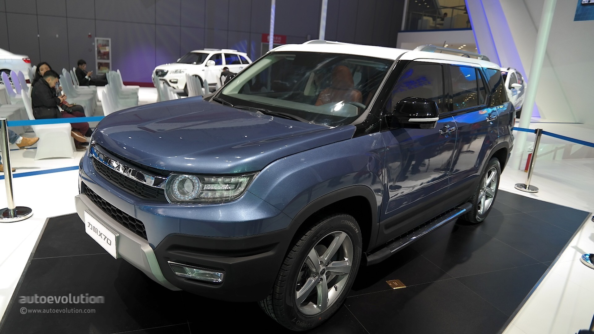 Lifan X70 Suv Concept Takes A Bow At Auto Shanghai 2015
