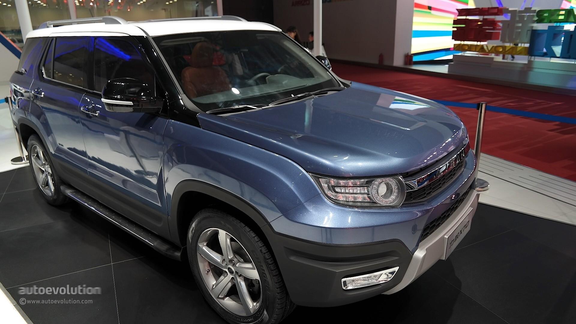 Lifan X70 Suv Concept Takes A Bow At Auto Shanghai 2015