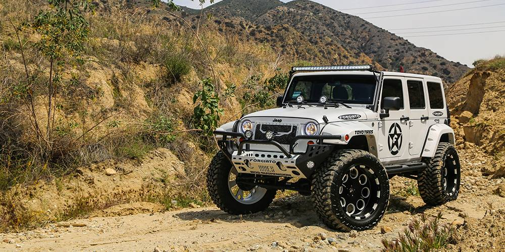 Palm Bay Ford >> Lifted Jeep Wrangler On Forgiato Offroad Wheels [Video] - autoevolution