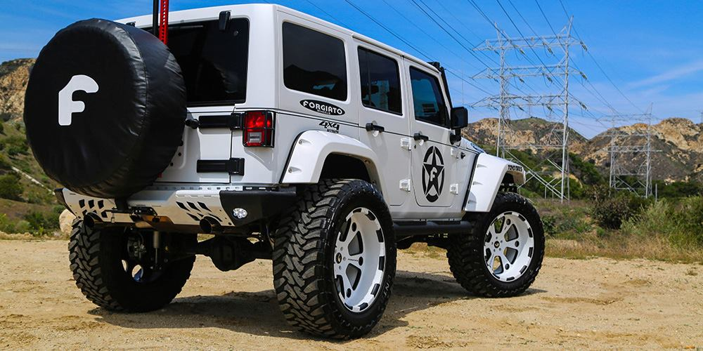 Lifted Jeep Wrangler On Forgiato Offroad Wheels Video