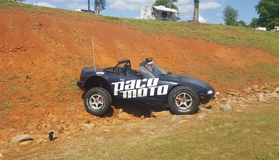 Lifted Mazda Miata Is the Awesome Baja Sportscar ...