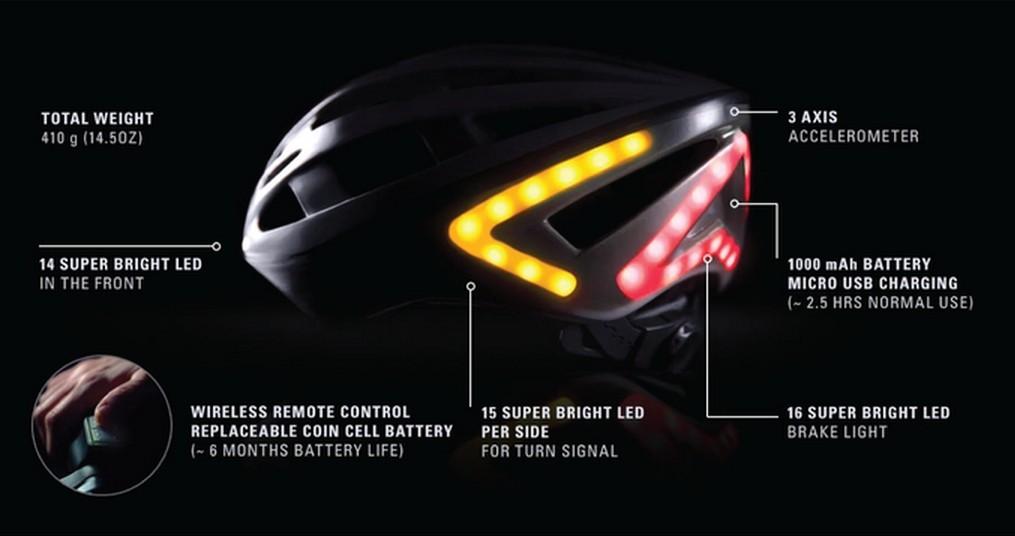 Lights Enabled Lumos Helmet Is As Cool As It Gets