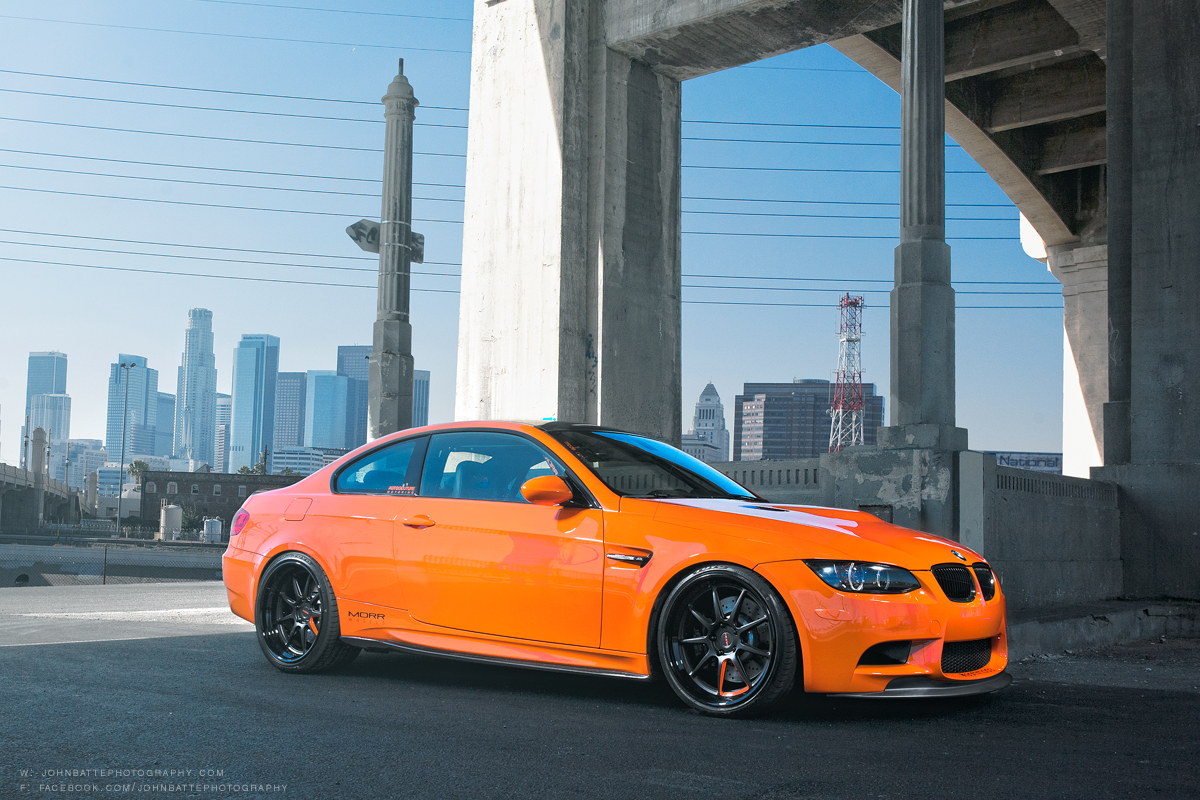 Lime Rock M3 Poses For Greatness On Morr Wheels Autoevolution
