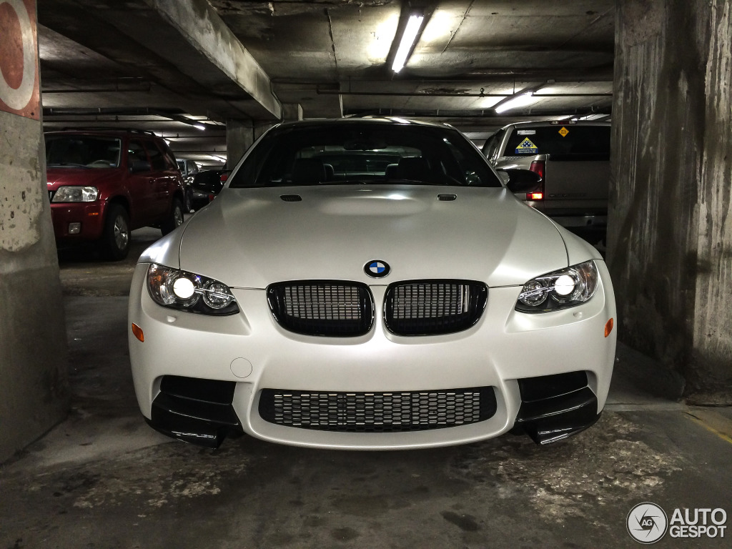 Limited Edition Frozen White Bmw E92 M3 Spotted In Kansas
