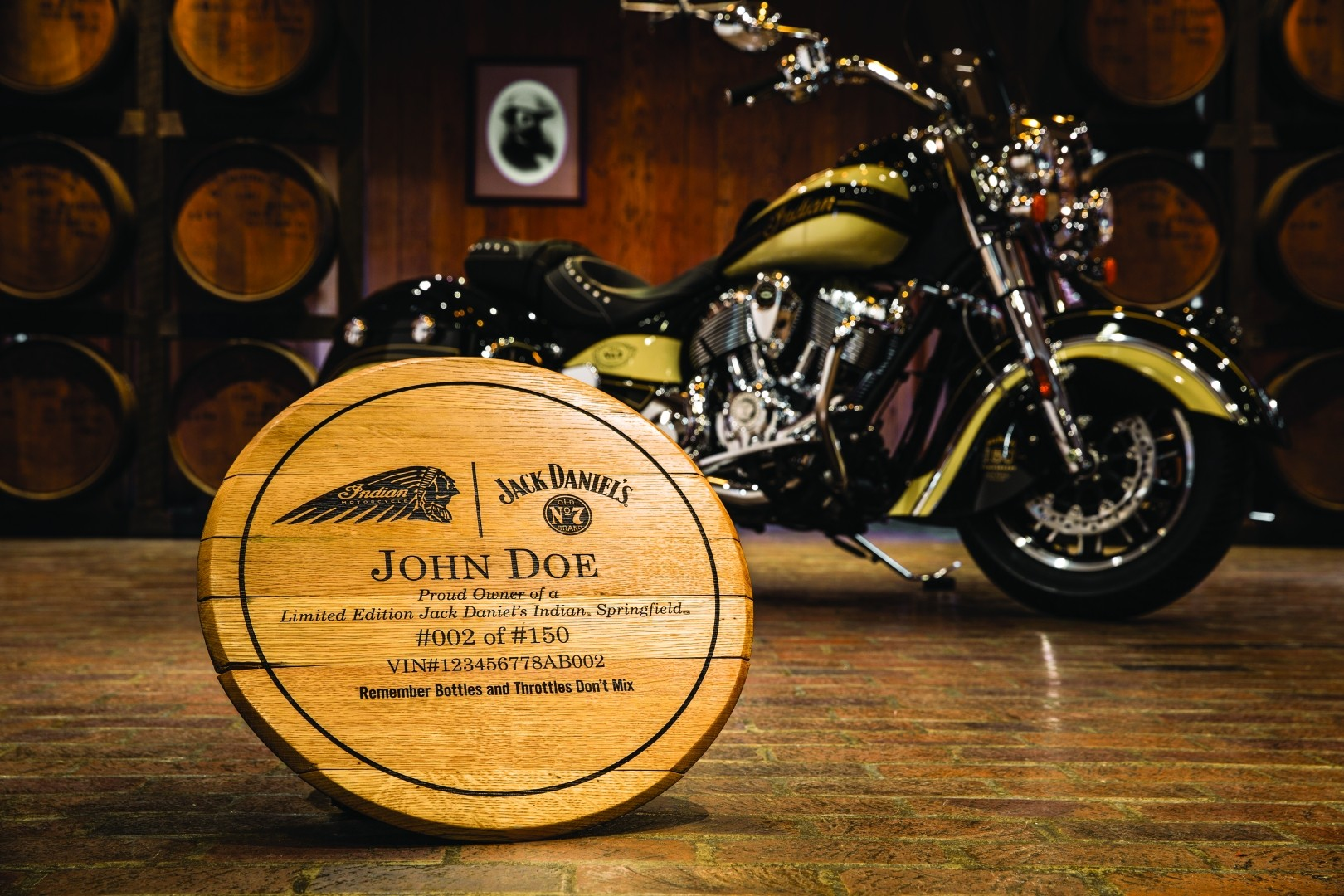Custom Car Paint >> Limited Edition Jack Daniel's Indian Springfield and Indian Chief Vintage - autoevolution