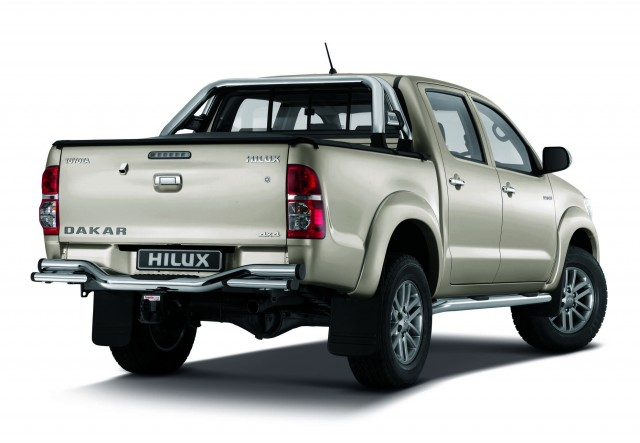 limited edition toyota dakar hilux on sale in south africa