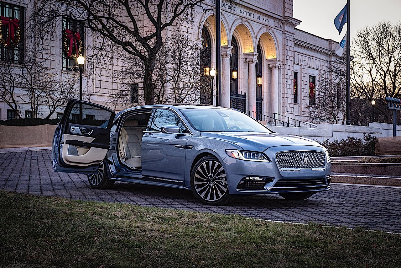 lincoln continental finally gets suicide doors  but only