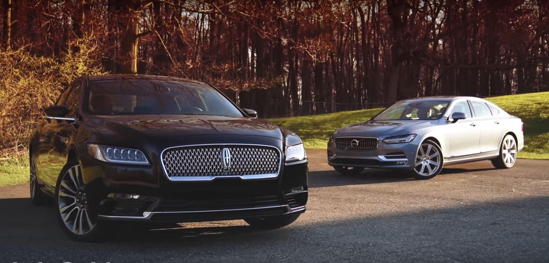 Lincoln Continental vs. Volvo S90 Comparison Is About Premium Sedan Alternatives - autoevolution