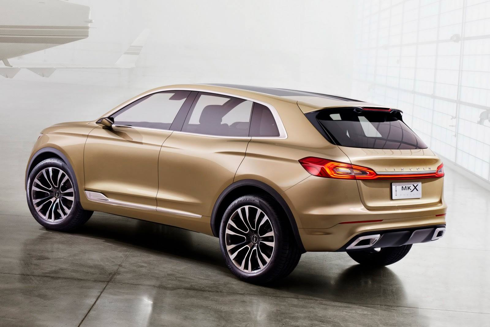 Lincoln MKX Concept Exposed at the 2014 Beijing Auto Show ...