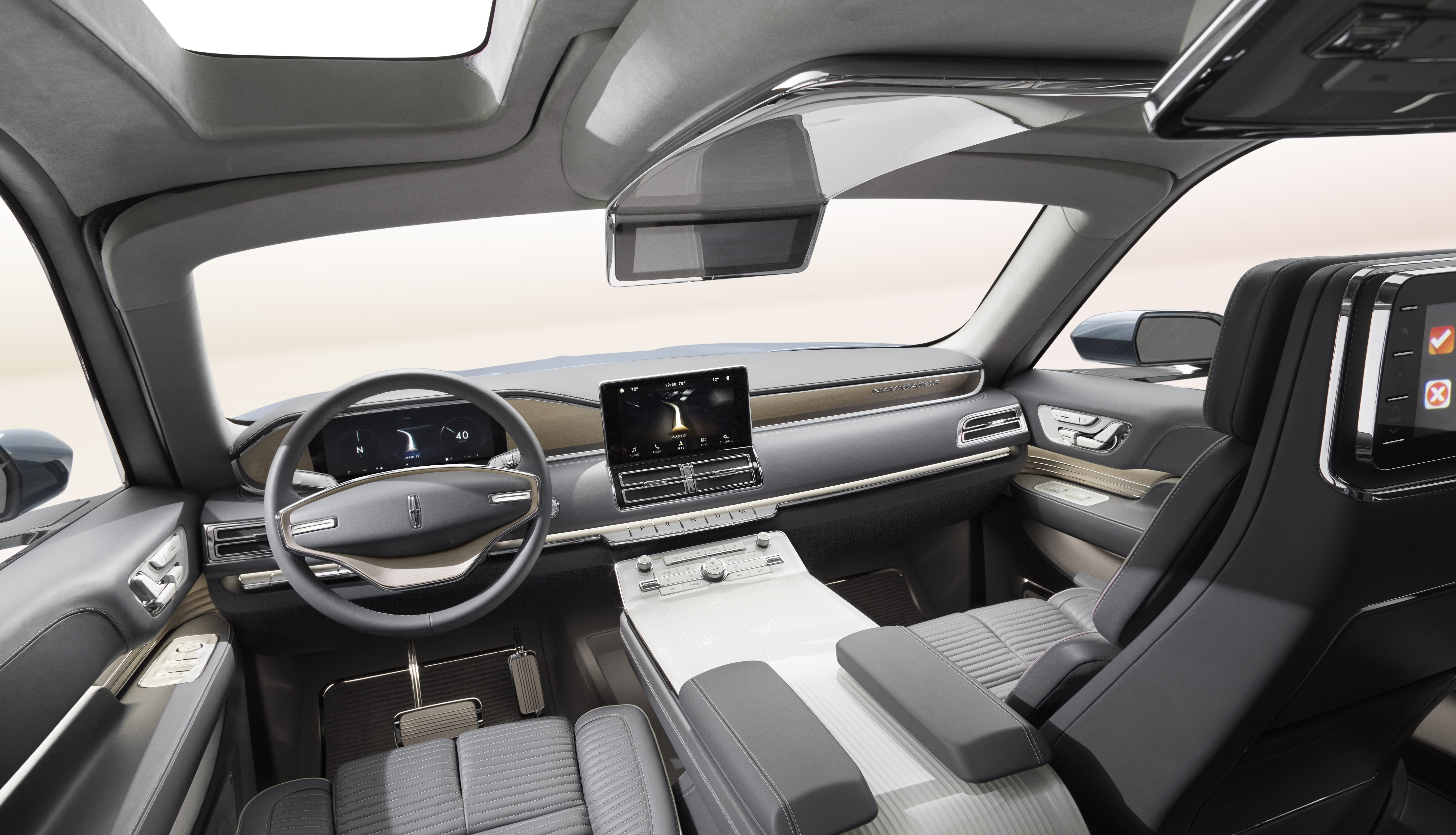 Lincoln Navigator Concept Has Gullwing Doors Previews 2018my