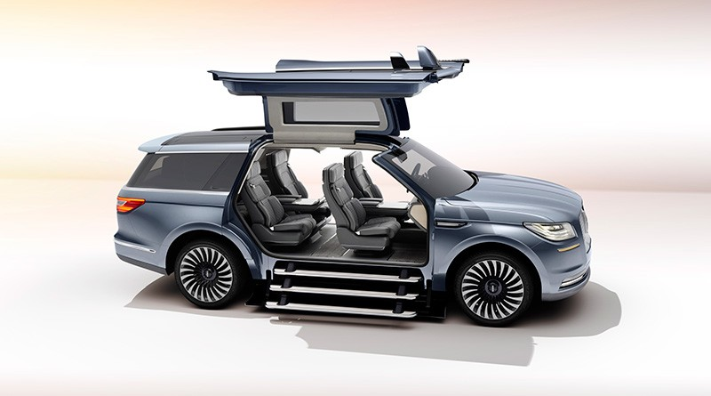 2018 lincoln continental. Plain Continental 2017 Lincoln Navigator Concept Massive Gullwing Doors Intended 2018 Lincoln Continental I