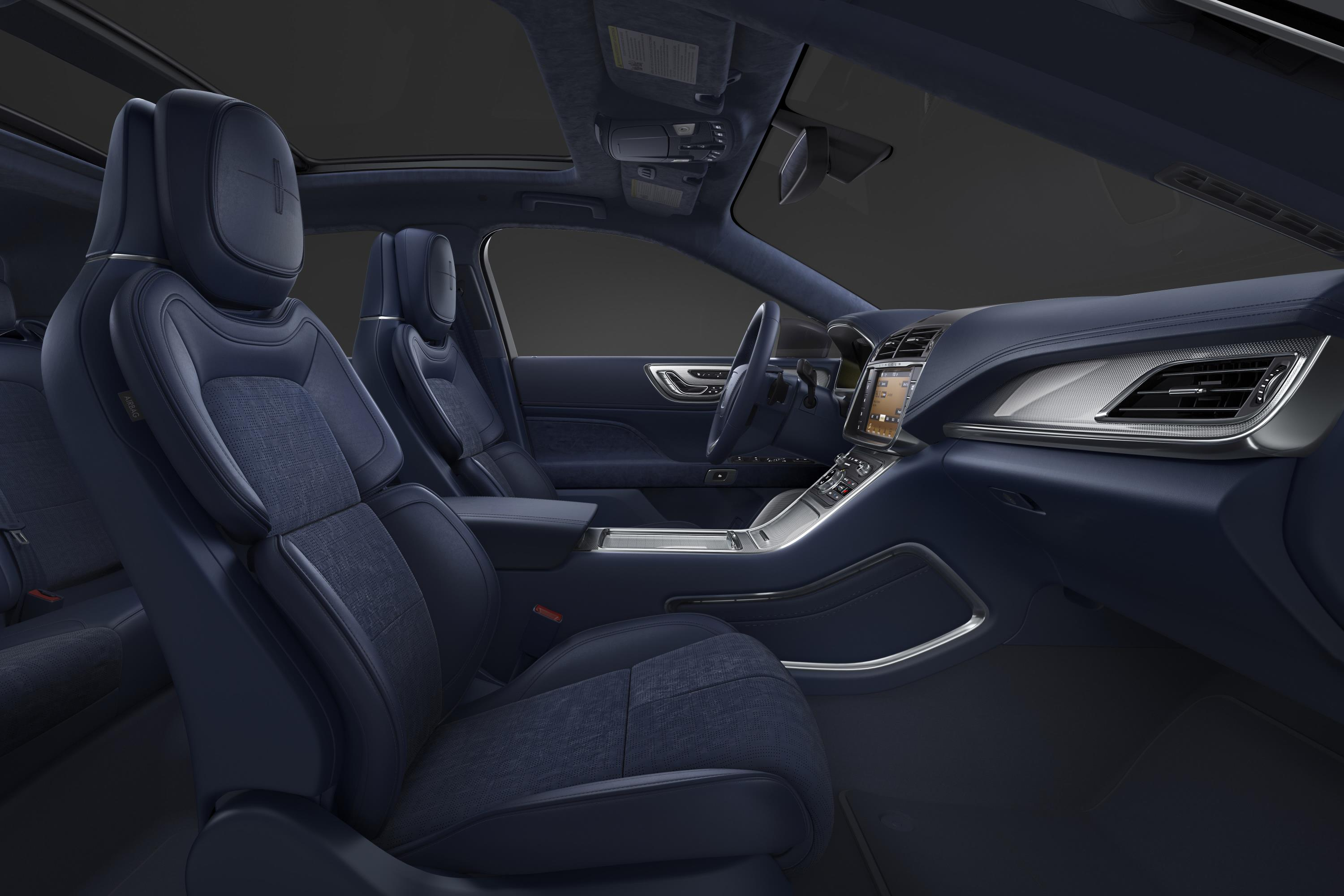 lincoln shows off continental black label with rhapsody theme autoevolution. Black Bedroom Furniture Sets. Home Design Ideas