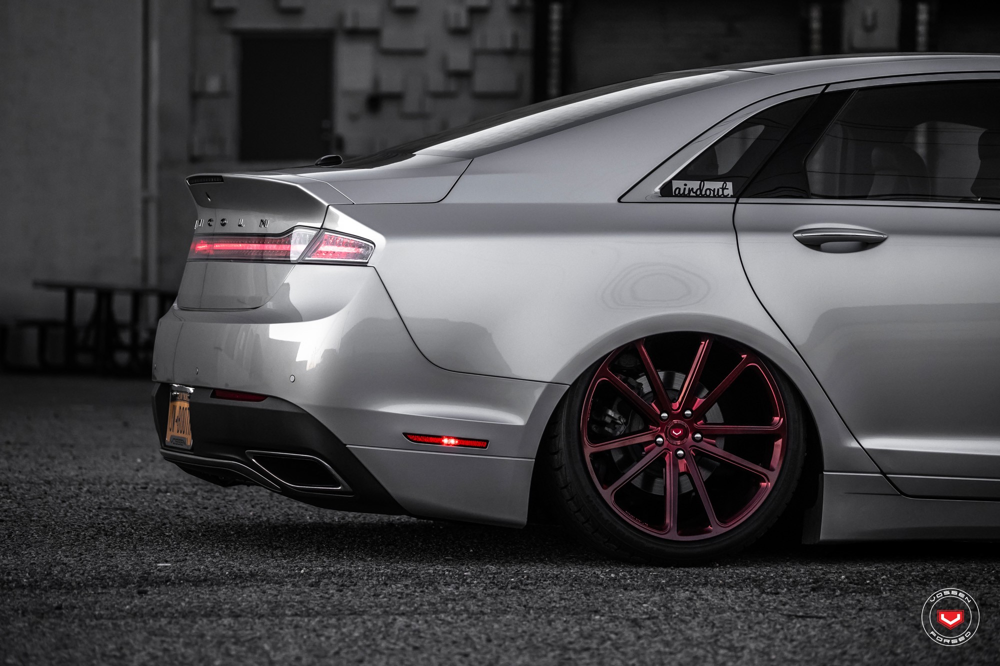 Lincoln Tuning Mkz Lowered On Vossen Wheels