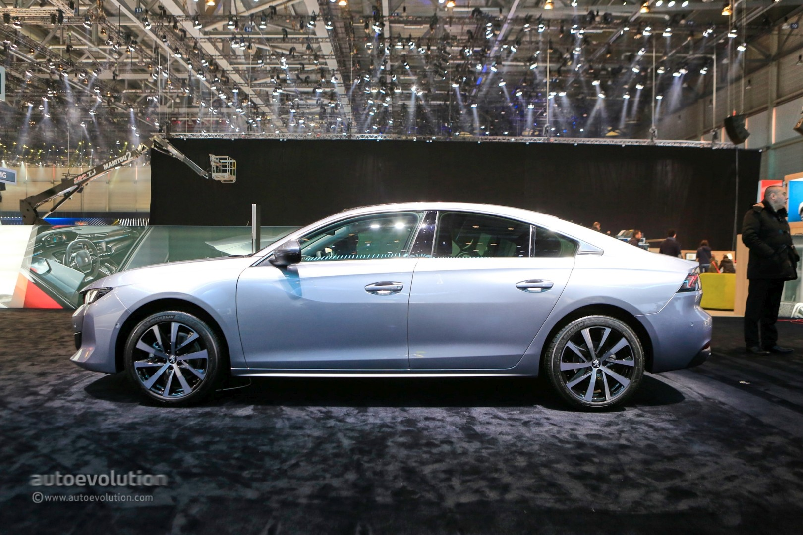New Bmw 7 Series >> Live: Peugeot 508 First Edition Stuns Geneva with Four-Door Coupe Look - autoevolution