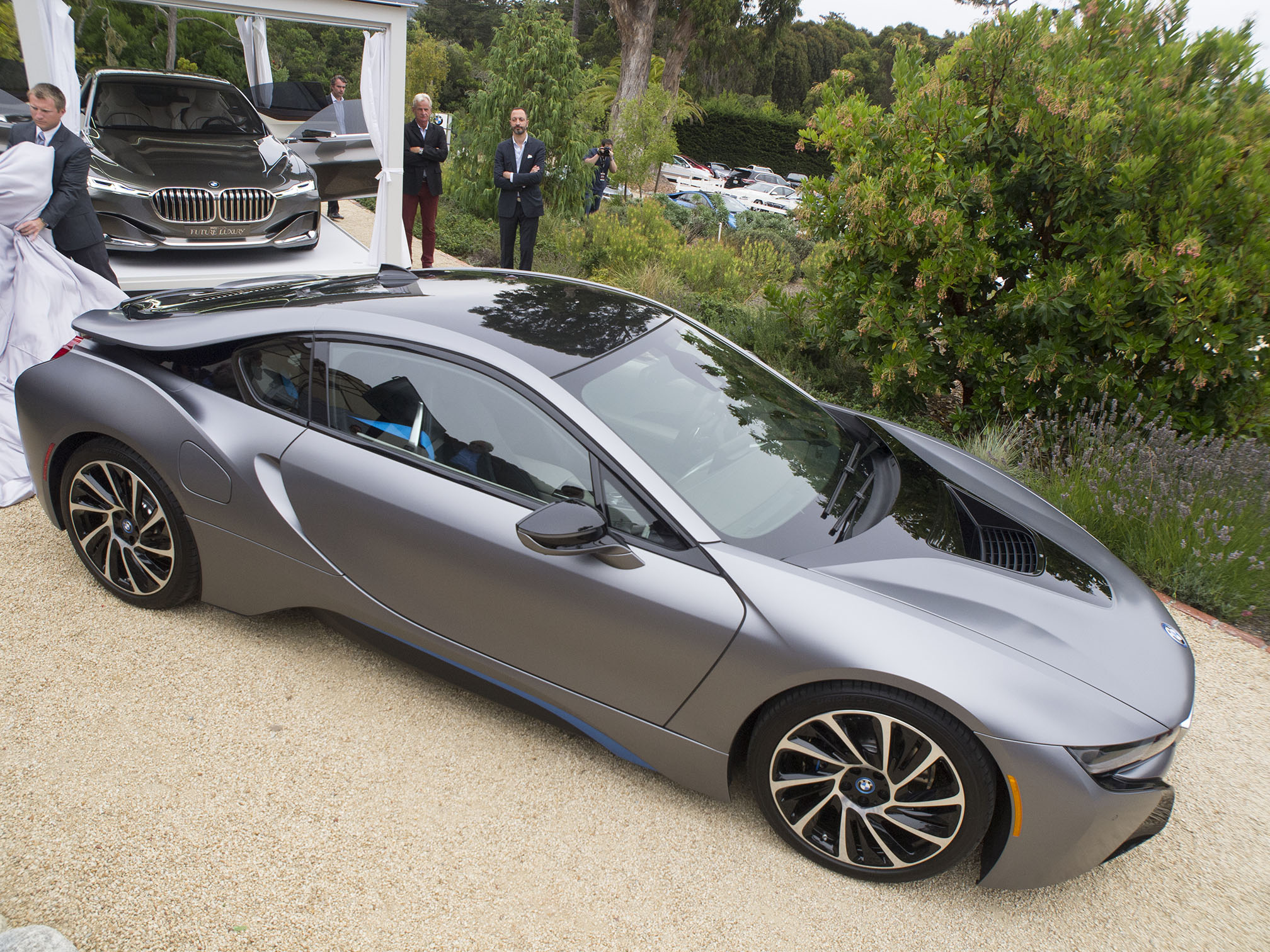Live Photos: BMW i8 Pebble Beach Concours d'Elegance ...