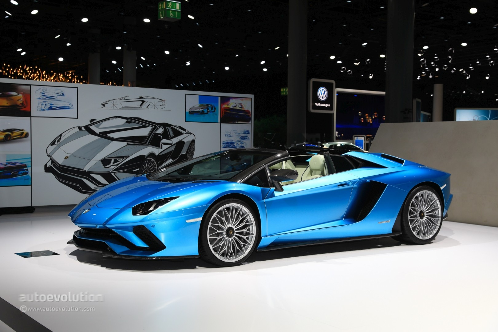 2018 lamborghini aventador s roadster rendered as the supercar we need right now autoevolution. Black Bedroom Furniture Sets. Home Design Ideas