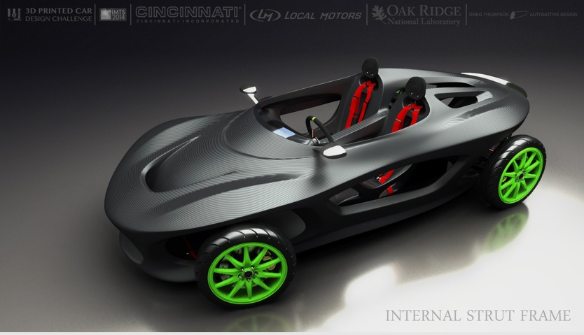 Local Motors Might 3d Print One Of These Concept Cars In