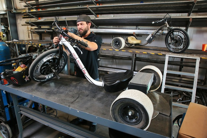 Local Motors Verrado Electric Drift Trike Goes Into Production Autoevolution
