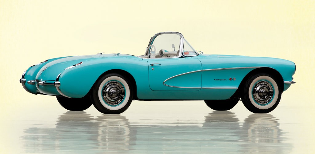 1957 Corvette C1 With Fuel Injection