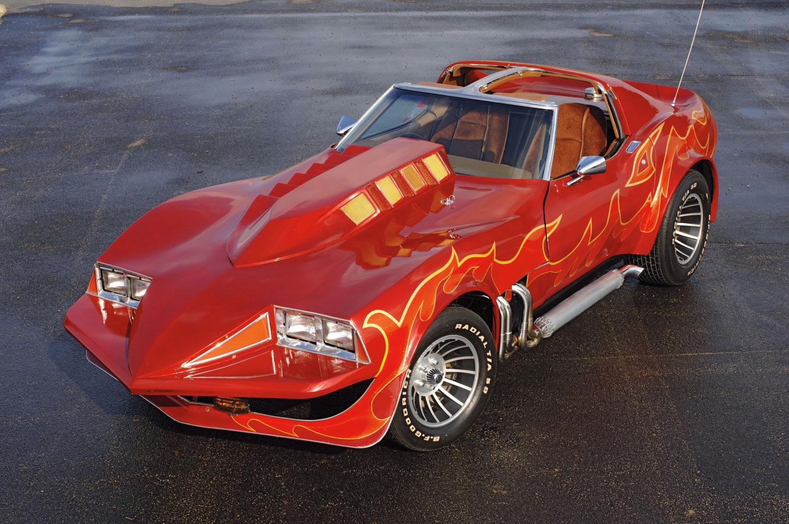 Tuned Corvette