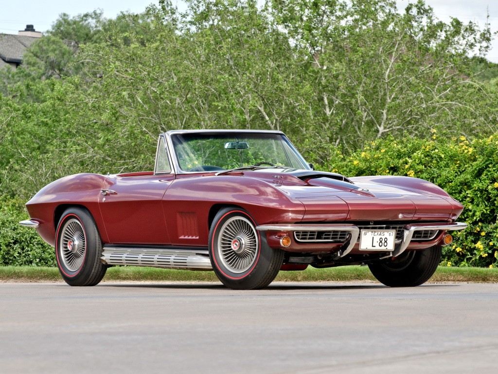 Chevrolet corvette c2 sting ray reviews prices ratings with -  1967 Corvette C2 L88