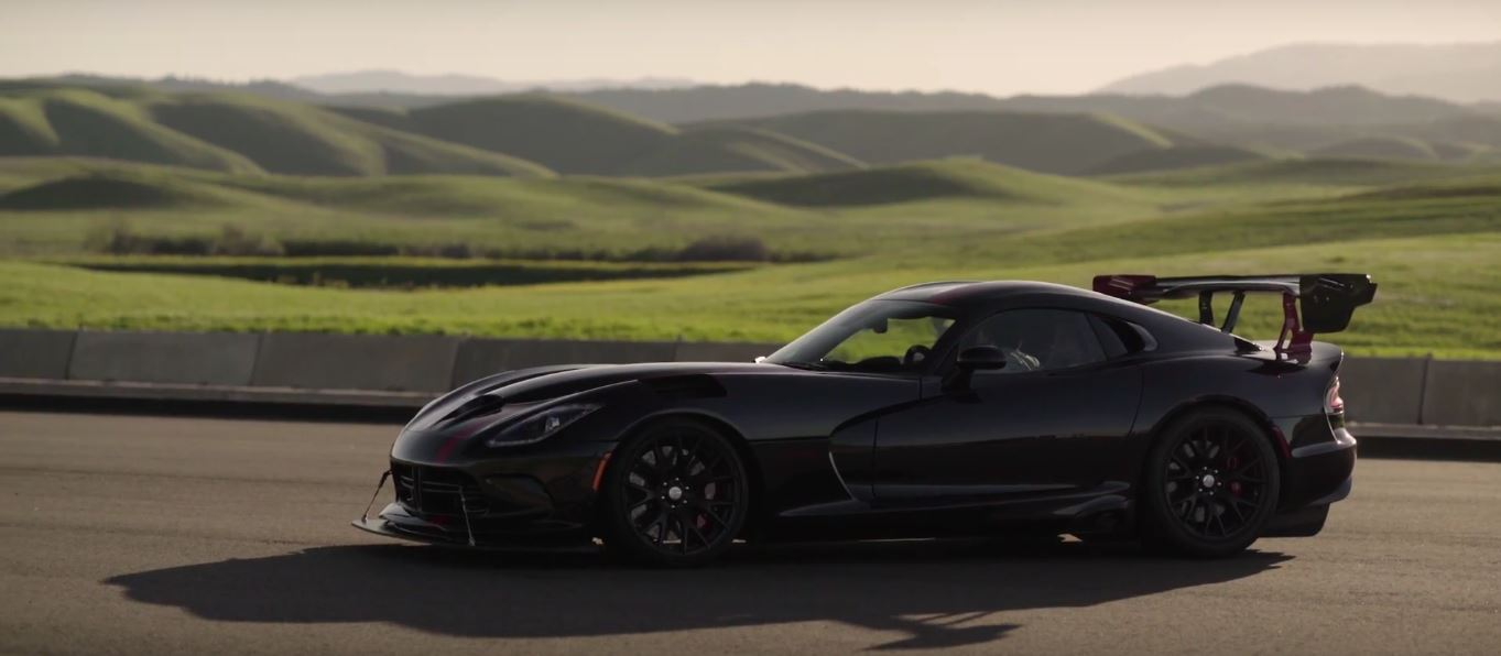 dodge viper acr dissection
