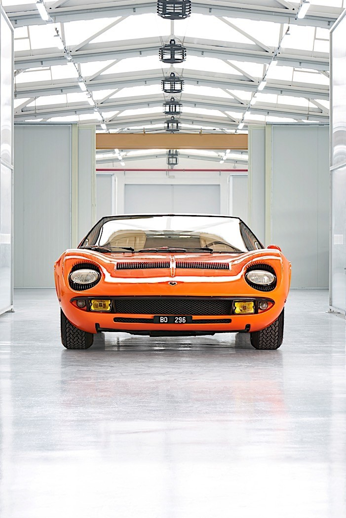 Lost For 50 Years Original The Italian Job Lamborghini Miura P400