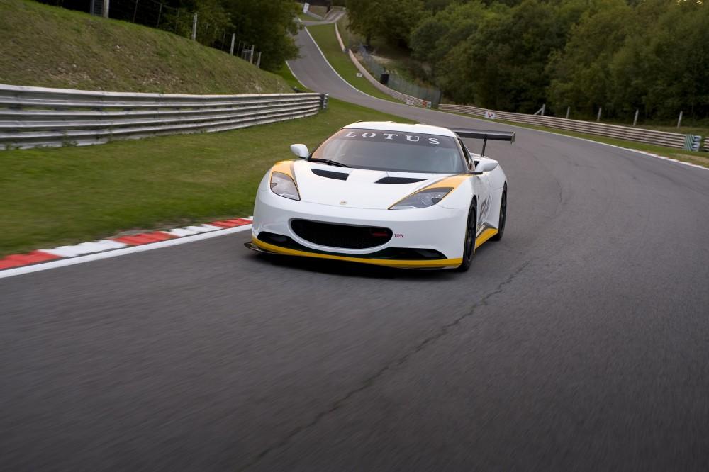 Lotus Evora Type 124 Endurance Racecar Released Autoevolution
