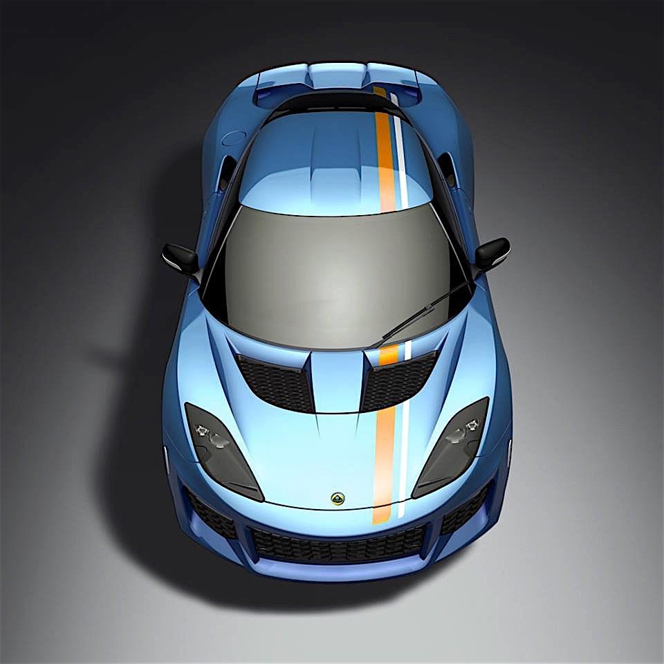 2017 Lotus Evora 400 Camshaft: Lotus Evora 400 Gets Iconic Color Scheme After Social