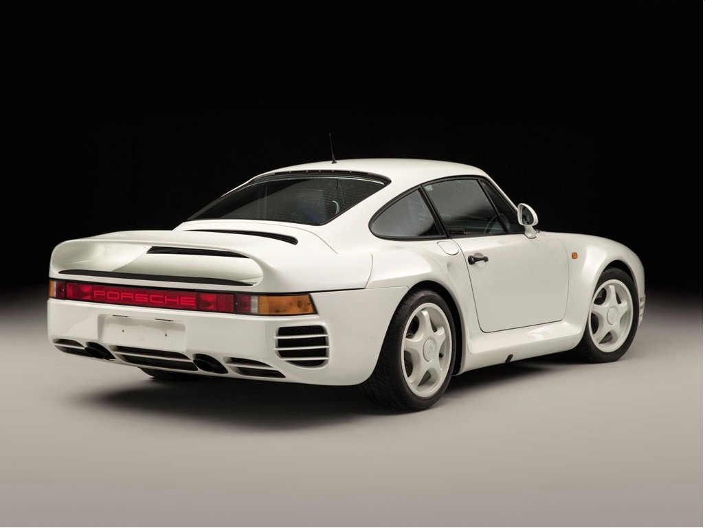Low-mileage 1988 Porsche 959  U201ckomfort U201d To Be Auctioned In January