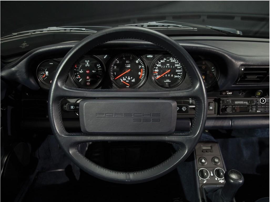 Low Mileage 1988 Porsche 959 Komfort To Be Auctioned In