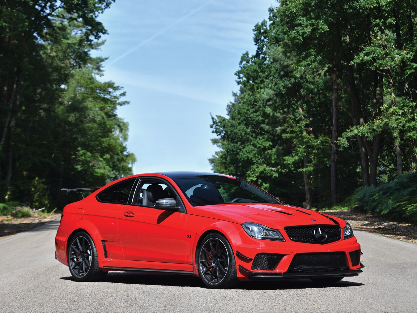 Low Mileage 2013 Mercedes Benz C63 Amg Black Series For